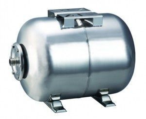 Гидроаккумулятор Hidroferra SХH-50 (50л горизонтальный) нержавейка цена