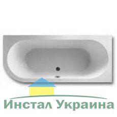 Акриловая ванна Gustavsberg Cassandra ассиметричная 180 x 80 R BA180CAS3REW-02