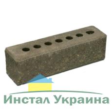 Кирпич Литос узкий колотый тычковой с фаской серый