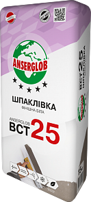 Anserglab ВСТ-25 Шпаклевка фасадная финишная белая 15 кг
