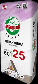 Anserglab ВСТ-25 Шпаклевка фасадная финишная белая 15 кг цена
