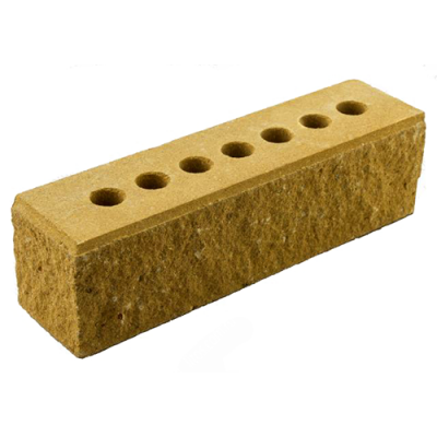 Кирпич Литос узкий колотый тычковой с фаской желтый цены
