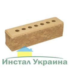 Кирпич Литос узкий колотый тычковой с фаской слоновая кость