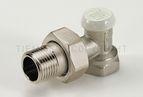 """купить Tiemme угловой запорный вентиль EXCEL ВН 1/2"""" для стальной трубы (3230001)"""
