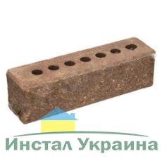Кирпич Литос узкий колотый тычковой с фаской шоколад