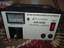 Стабилизатор напряжения Luxeon AVR-500W цены