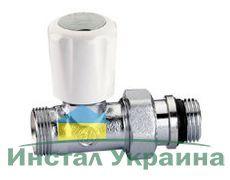 Caleffi Кран-термостат радиаторный М23х1/2` прямой