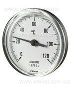 купить Cewal Термометр из метал. корп. ?63 0/120С 5см фронтальный