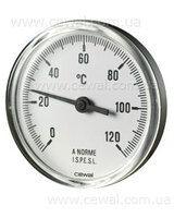 Cewal Термометр Д63 0/120°С 5см фронтальный