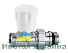 Caleffi Кран радиаторный М23х1/2` прямой