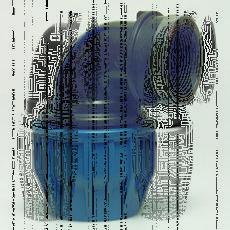 Колено полиэтиленовое внутренней резьбой DN 25х3/4