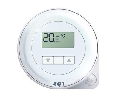 Euroster Q1 Терморег. комнатный 5А 5-45°C, ЖК экран, внутрен. датчиком темп. воздуха, на батарейках цена