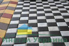 Тротуарная плитка Квадрат Большой 200х200 (белый) (6 см)