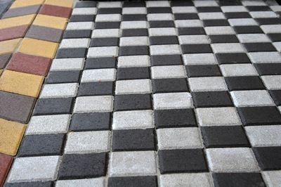 Тротуарная плитка Квадрат Большой 200х200 (белый) (6 см) цены