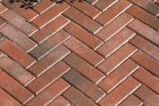Тротуарная плитка Кирпич Узкий (красный) 210х70 (6 см)