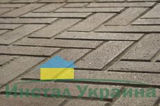Тротуарная плитка Кирпич Узкий (серый) 210х70 (6 см)