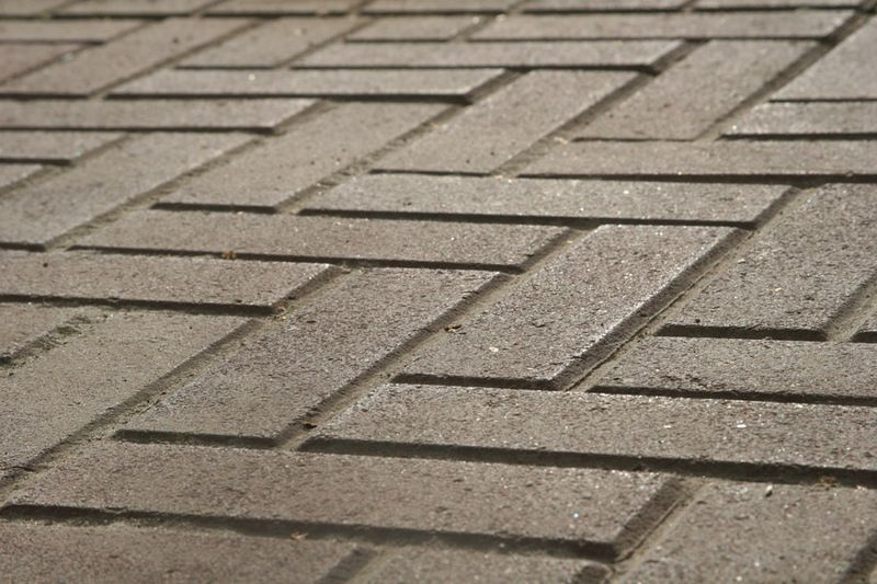 Тротуарная плитка Кирпич Узкий (черный) 210х70 (6 см)