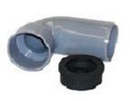 купить Ostendorf угольник к сифону 50/40/30 для внутренней канализации