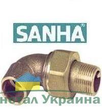 Sanha (латунь) Сборка угл. П-НР 4098g 12*1/2