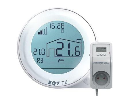 Терморегулятор Беспроводной комнатный Euroster Q7TXRX цена