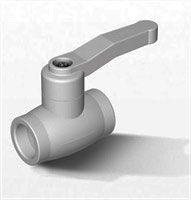 Firat Полипропиленовый кран вентиль 32 1
