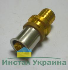 KAN Соединитель переходной PUSH x PRESS 18x2,5/16x2 K-902718