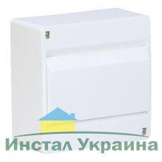 HAGER Щит навесной Сosmos 1 ряд 8 модулей белые двери (VD108PD)