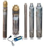 купить Насос скважинный шнековый VOLKS pumpe 3QGD 1.5-70-0.37кВт 3 дюйма! + кабель 15м
