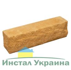 Кирпич Литос узкий скала тычковой полнотелый терракот