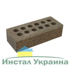 Кирпич Литос стандартный колотый тычковой с фаской серый