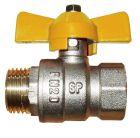 Газовый шаровый кран Solomon 2` НВ жр PN40