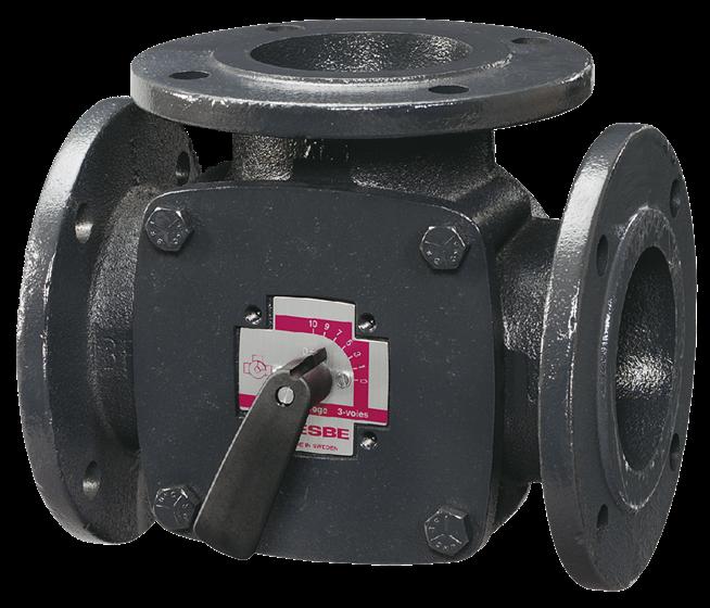 ESBE SB114S клапан 3-ходовой F DN50 kvs 60 (11100600)