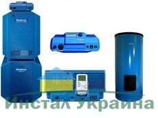 Пакет Buderus Logapak G234WS - 50 + Logalux SU200/5E + Logamatic R 2107 + AW50.2-Kombi