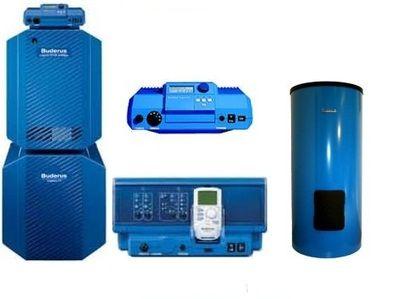 Пакет Buderus Logapak G124WS - 28 + Logalux SU200/5E + Logamatic R 2107 + FM241 + AW50.2-Kombi цена