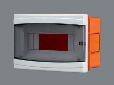 Щиток пластиковый на 9 модулей с дверцей (внутренний) BR 805 цена