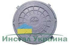 Люк смотровой д. 620 черный 1,5 Т
