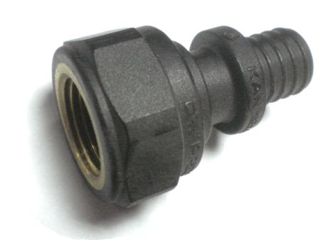 """KAN-therm Соединитель Push с манжетой с резьбой внутренней 18x2,5 G3/4"""" (9014.380)"""