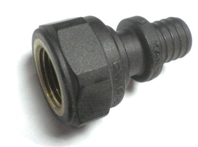 """KAN-therm Соединитель под натяжное кольцо с манжетой с резьбой внутренней 25x3,5 G1/2"""" (9014.400) цена"""