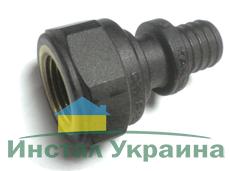 """KAN-therm Соединитель Push с манжетой с резьбой внутренней 32x4,4 G1"""" (9019.040)"""