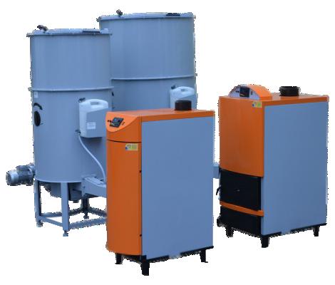 Пеллетный котел LOGICA Futura Bio Standart 150kW