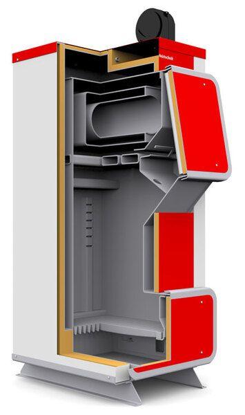 Твердотопливный котел Heiztechnik RED UNI (Q Plus) 35