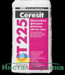 Ceresit СТ 225 Шпаклевка фасадная финишная (св.-серая), слой до 3мм