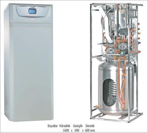 Газовый конденсационный котел Immergas Hercules Condensing 32 2 I