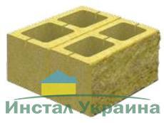 Блок декоративный для столба (двусторонний скол) М-200 400х400х200 (персиковый)