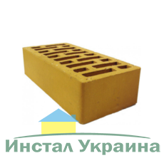 Клинкерный кирпич ЭКОНОМ ТМ Керамейя Янтарь