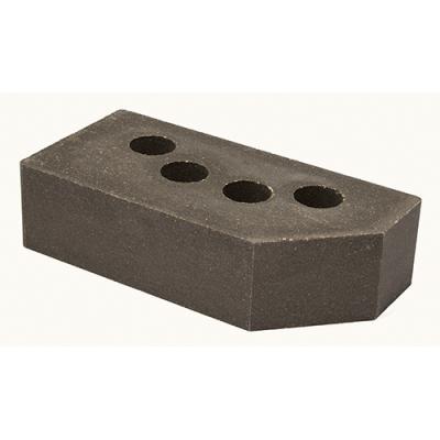 Кирпич Литос стандартный угловой серый цена