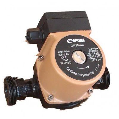 Насос циркуляционный Optima OP25-40 130мм + гайки, + кабель с вилкой! цены