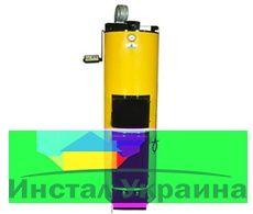 Твердотопливный котел длительного горения Буран 40 У + ГВС (стальной колосник)