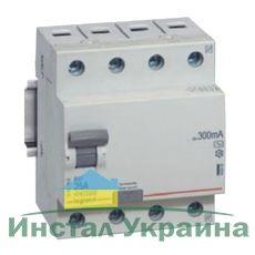Legrand RX3 Дифференциальное реле 30mA 40А 4п AC (402063)