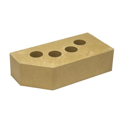 Кирпич Литос стандартный угловой желтый цена